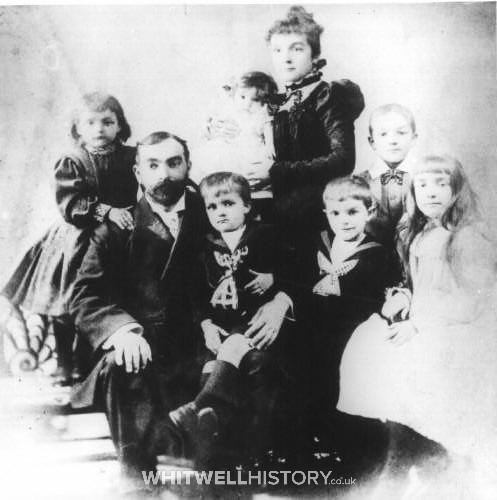 Francis Simeon and Emma, with their 6 children, London