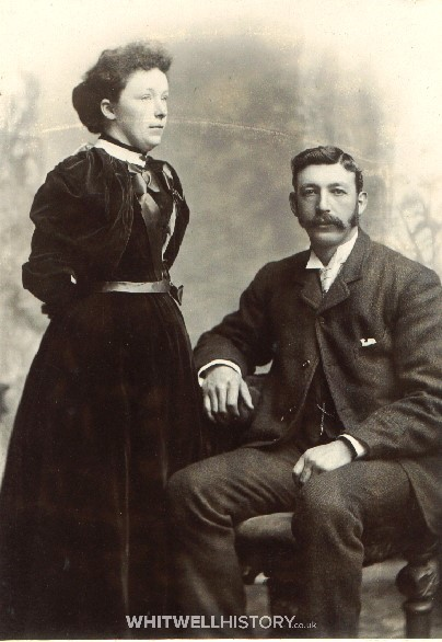 Francis William Attrill with wife Rowenda Colenutt
