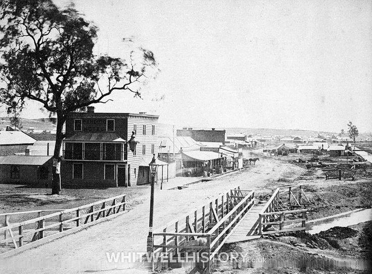 Bendigo in 1854