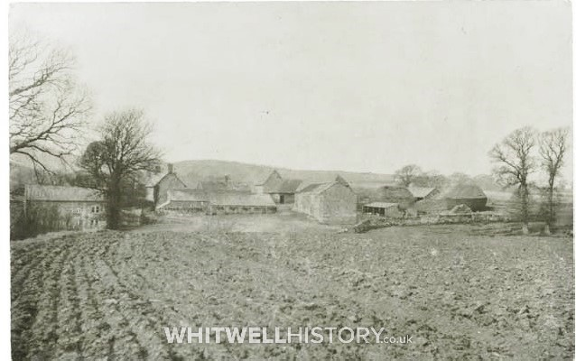 Photograph of Ford, taken from the east, possibly 1940/50's. The Mill House shows clearly on the left.