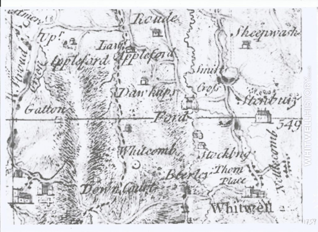 Whitwell Map 1759