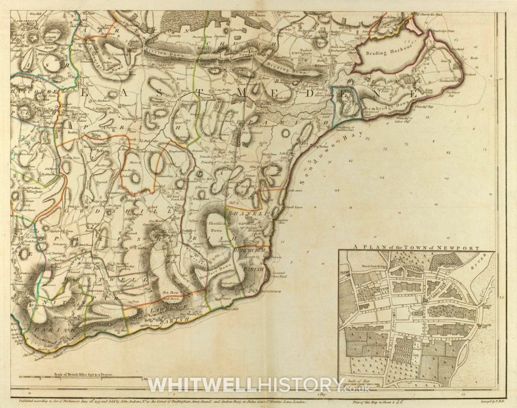 John Andrew's Map 1775