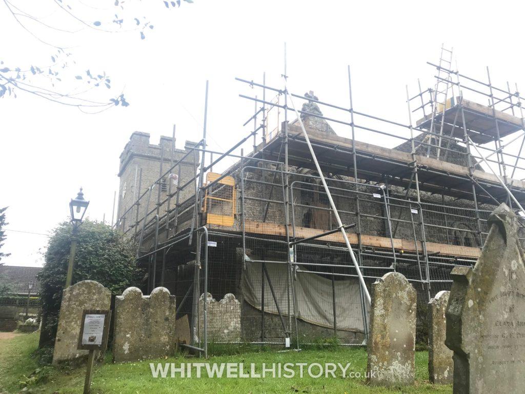 Whitwell Church Roof Repairs 2019