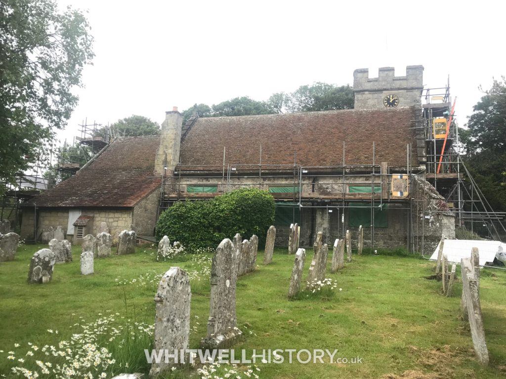 Whitwell Church Roof Repairs 2019